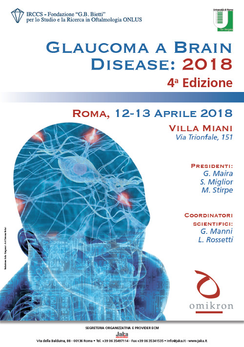 Glaucoma a Brain Disease 2018